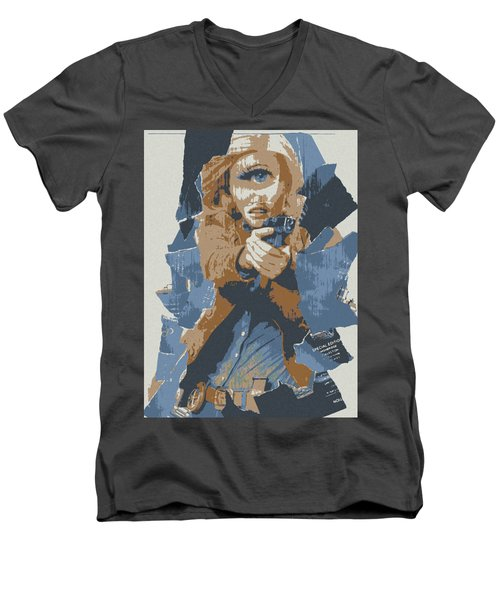 Dont Worry I Can See Men's V-Neck T-Shirt by Michael Curry