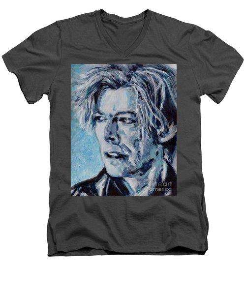 Dont You Wonder Sometimes  Men's V-Neck T-Shirt