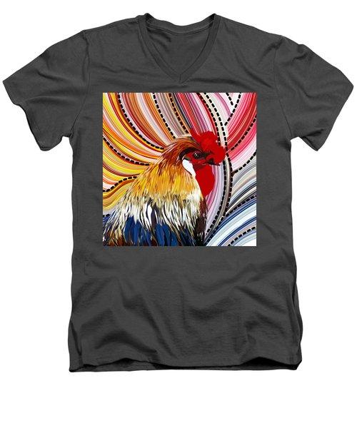 Doodle Doo Men's V-Neck T-Shirt