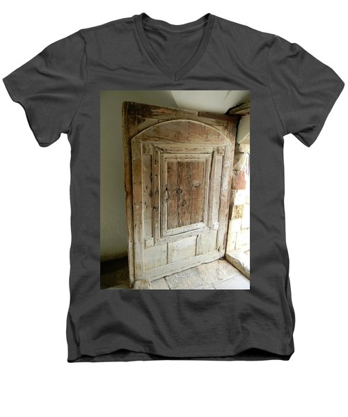 Door To Feudal Times Men's V-Neck T-Shirt