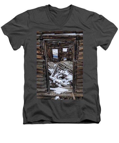 Doorway To The Past Men's V-Neck T-Shirt
