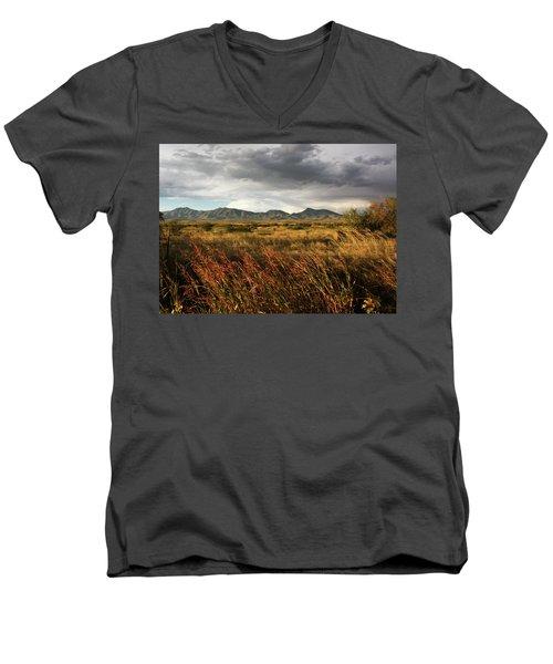 Dos Cabezas Grasslands Men's V-Neck T-Shirt