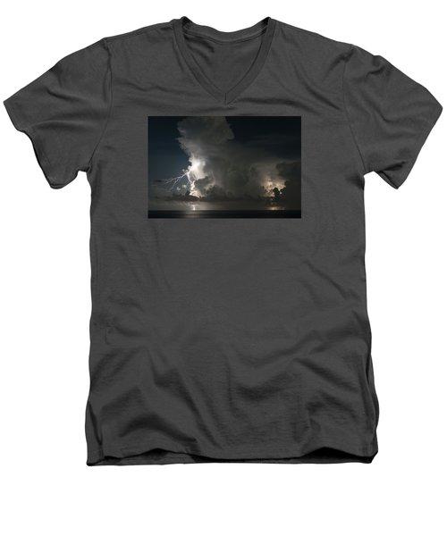 Double Men's V-Neck T-Shirt
