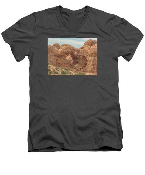 Double Arch  Men's V-Neck T-Shirt