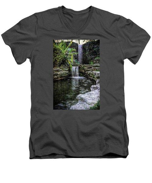Double Drop Men's V-Neck T-Shirt