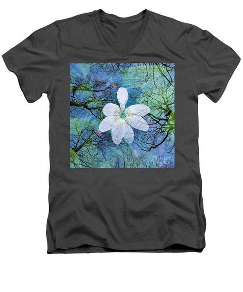 Close Encounters-1 Men's V-Neck T-Shirt