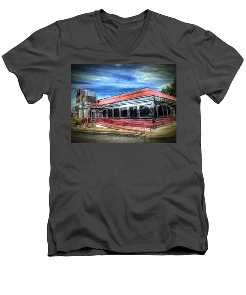 Double T Diner Men's V-Neck T-Shirt