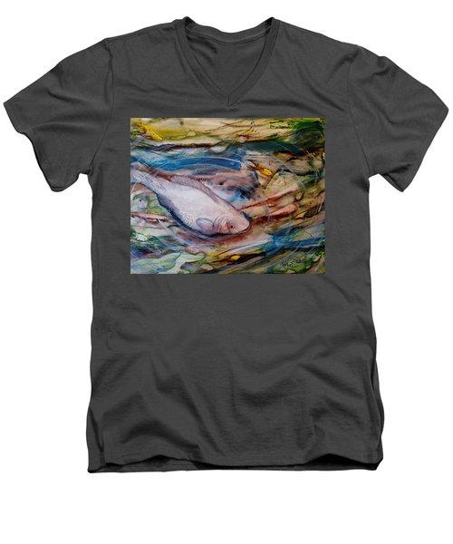 Down Below Men's V-Neck T-Shirt