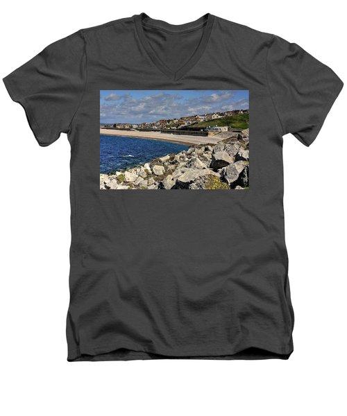 Down The Cove Men's V-Neck T-Shirt
