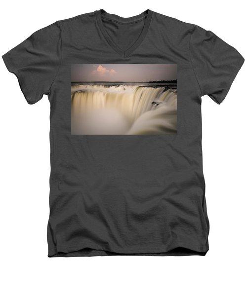 Down The Hatch Men's V-Neck T-Shirt