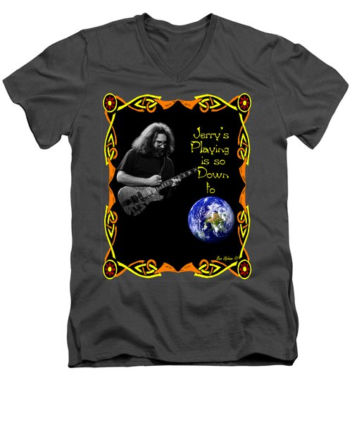 Down To Earth #2 Men's V-Neck T-Shirt