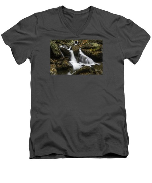 Downhill Flow Men's V-Neck T-Shirt