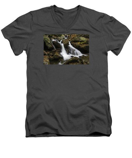 Downhill Flow Men's V-Neck T-Shirt