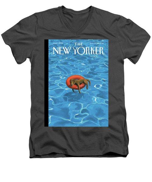 Downtime Men's V-Neck T-Shirt
