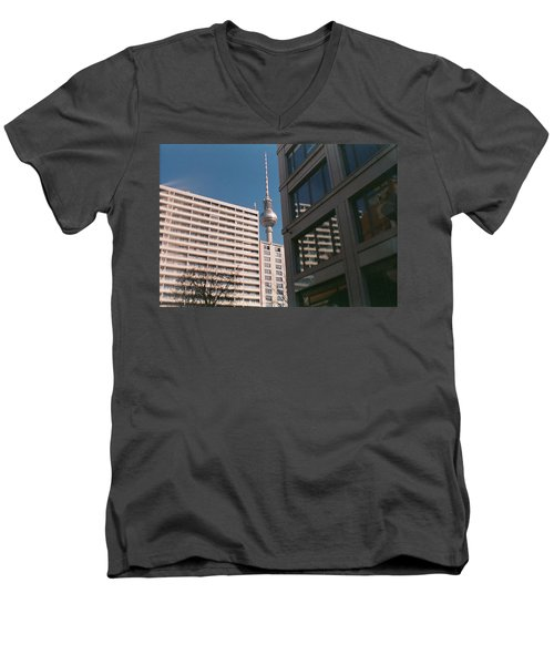 Downtown Berlin Men's V-Neck T-Shirt