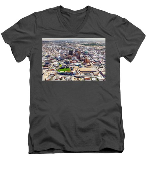 Downtown El Paso Men's V-Neck T-Shirt
