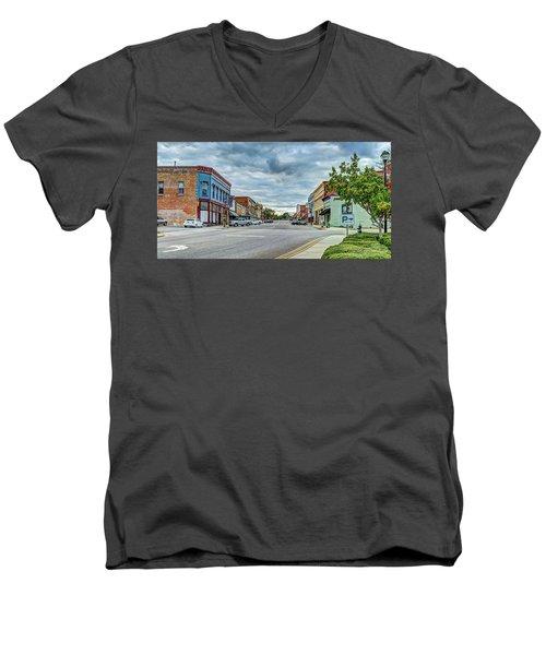 Downtown Hamlet Men's V-Neck T-Shirt