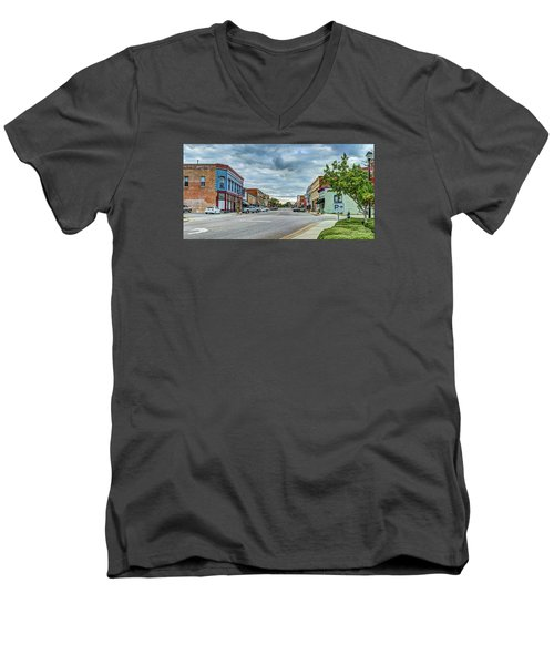 Downtown Hamlet Men's V-Neck T-Shirt