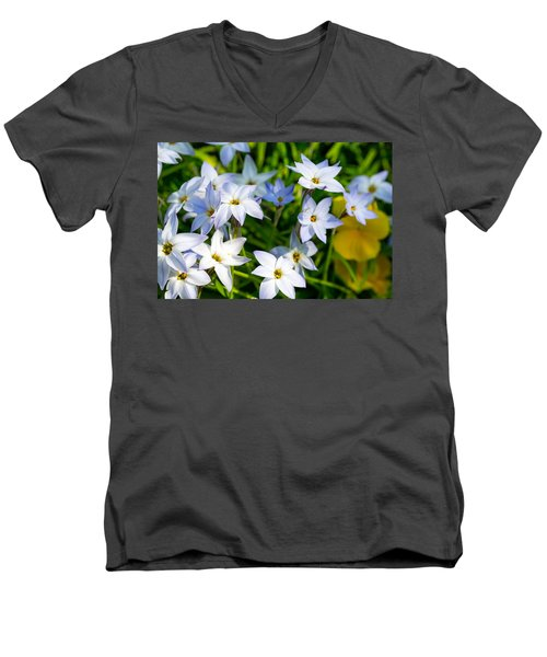 Downtown Wildflowers Men's V-Neck T-Shirt