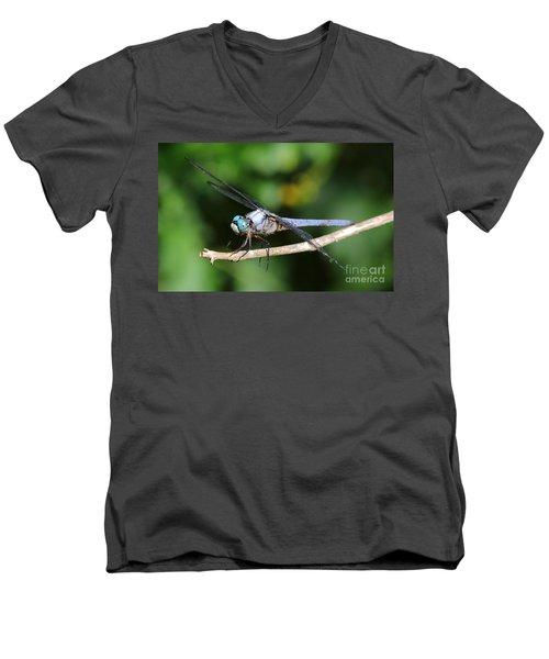 Dragonfly Portrait Men's V-Neck T-Shirt