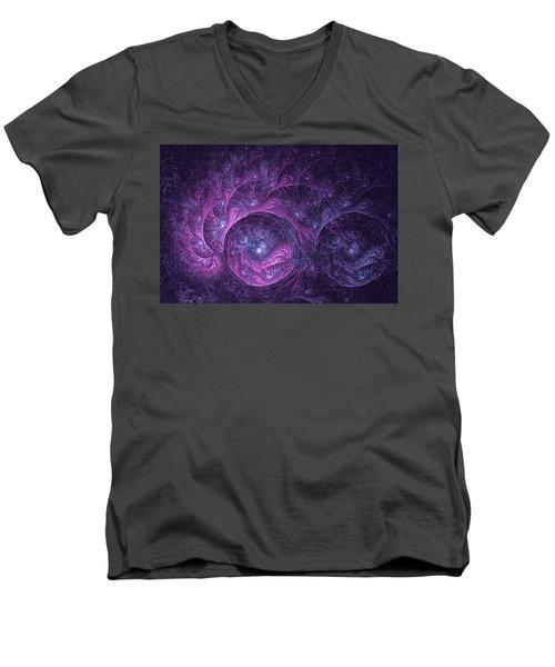 Dragon Nebula Reloaded Men's V-Neck T-Shirt