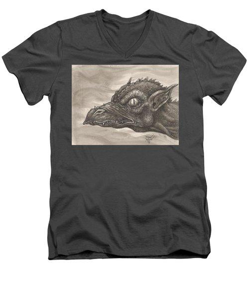 Dragon Portrait No. 2 Men's V-Neck T-Shirt