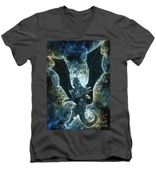 Dragon Spirit Men's V-Neck T-Shirt