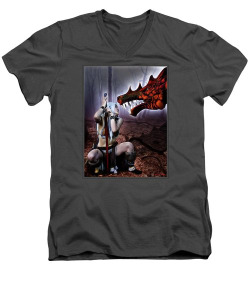Dragon Whisperer Men's V-Neck T-Shirt