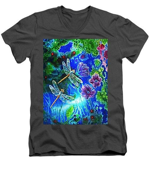 Dragonflies Men's V-Neck T-Shirt