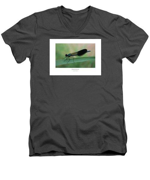 Dragonfly Men's V-Neck T-Shirt