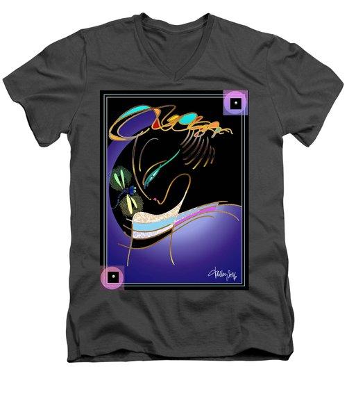 Dragonfly Messenger Men's V-Neck T-Shirt