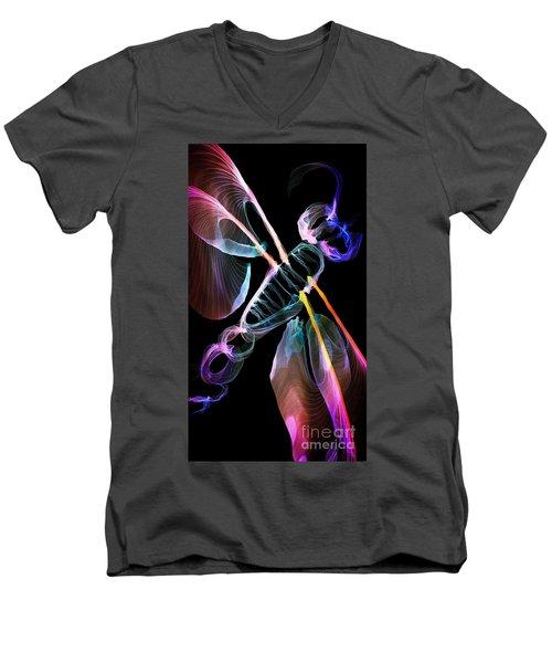 Dragonfly Souls Men's V-Neck T-Shirt