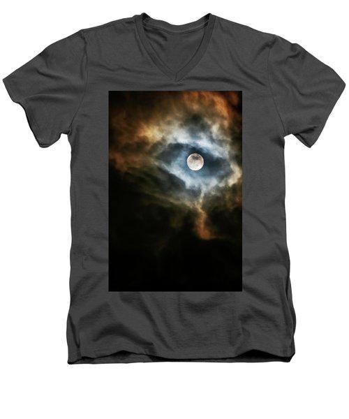 Dragon's Eye Men's V-Neck T-Shirt