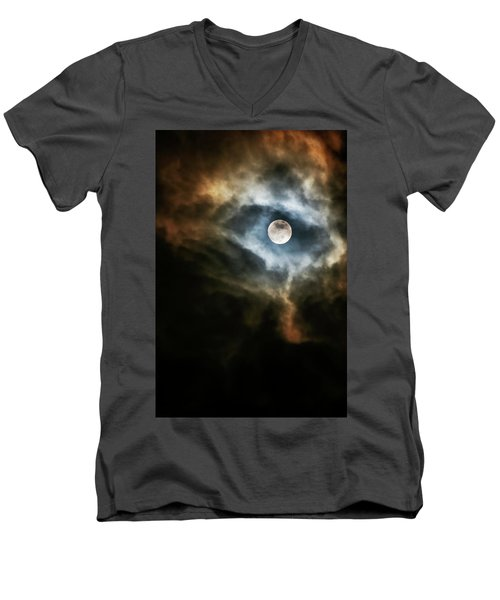 Dragon's Eye Men's V-Neck T-Shirt