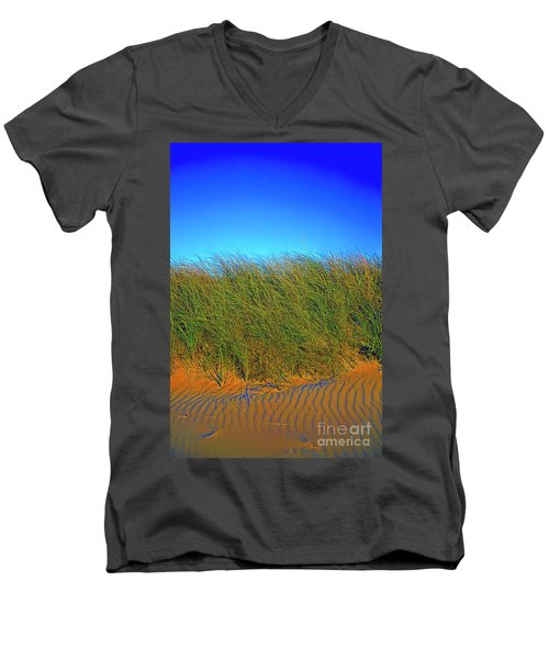 Drake's Island Beach Men's V-Neck T-Shirt