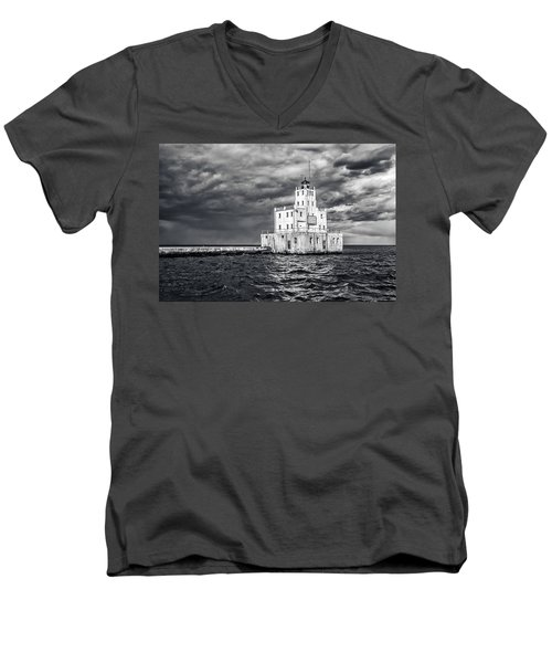 Drama In The Clouds Men's V-Neck T-Shirt