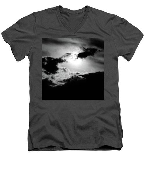 Dramatic Clouds Men's V-Neck T-Shirt