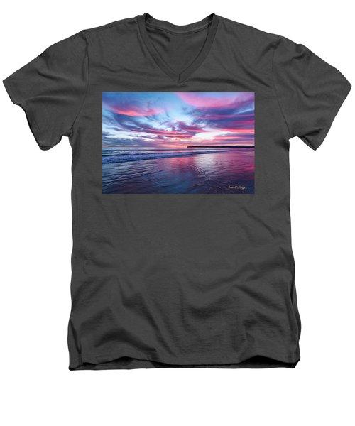 Drapery Men's V-Neck T-Shirt