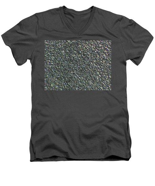 Drawn Pebbles Men's V-Neck T-Shirt