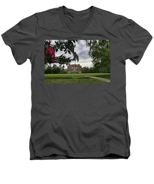 Drayton Hall II Men's V-Neck T-Shirt
