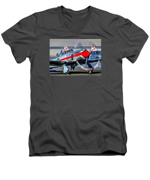 Dreadnought Startup Men's V-Neck T-Shirt