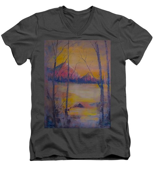 Dream Haze Men's V-Neck T-Shirt