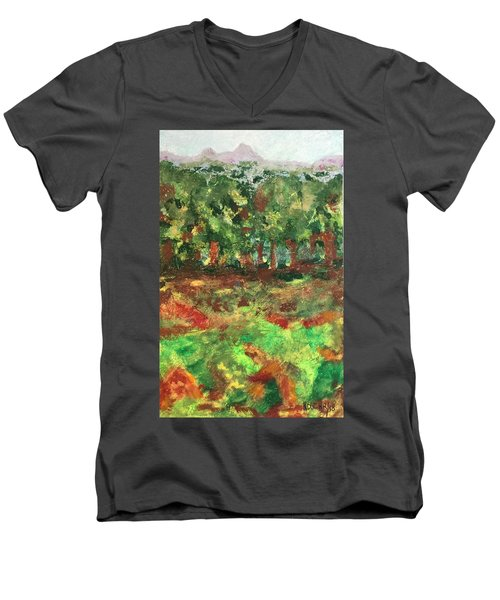 Dream In Green Men's V-Neck T-Shirt