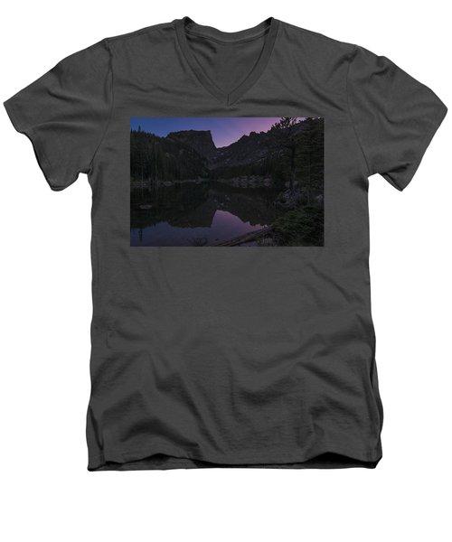 Dream Lake Reflections Men's V-Neck T-Shirt