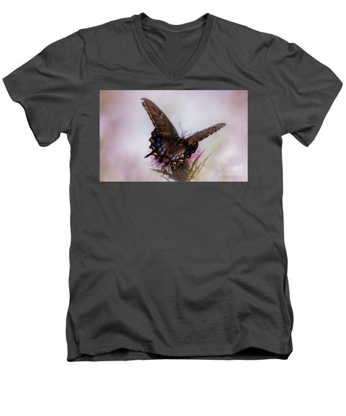 Dream Of A Butterfly Men's V-Neck T-Shirt by Rima Biswas