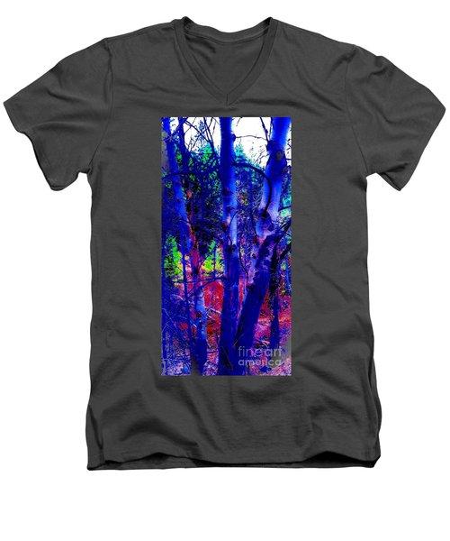 Dreaming Aspens Men's V-Neck T-Shirt by Jennifer Lake