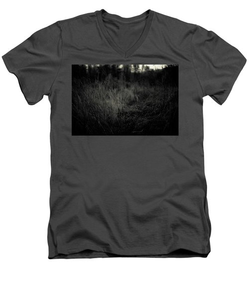 Men's V-Neck T-Shirt featuring the photograph Dreaming In by Shane Holsclaw