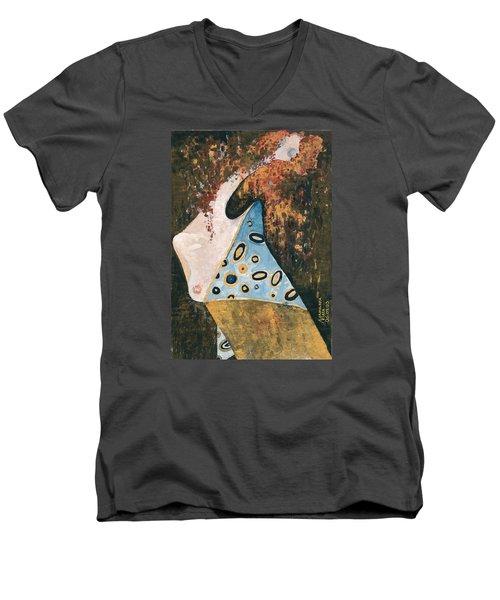 Dreaming Men's V-Neck T-Shirt by Maya Manolova