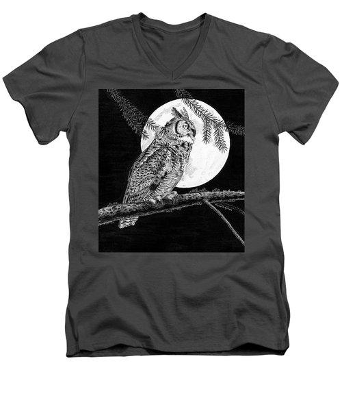 Dreaming Of The Night Men's V-Neck T-Shirt