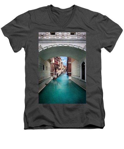 Dreaming Of Venice Men's V-Neck T-Shirt